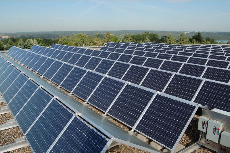 Massive Solar Installation Kansas City Photo - Worldwide Energy